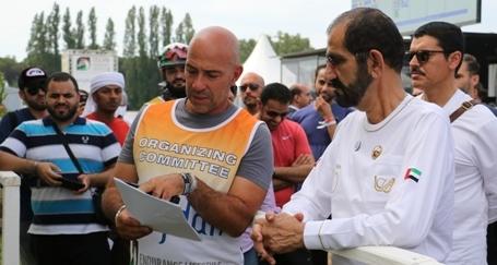 Prova di forza degli Emirati Arabi Uniti a Toscana Endurance Lifestyle 2018